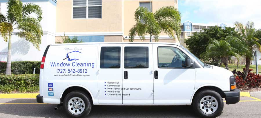 About Magic Touch Window Cleaning